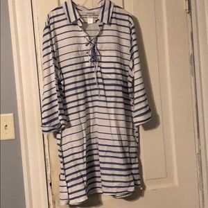NWOT Swimsuit Cover-Up Dress